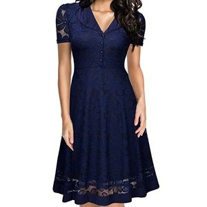 Miusol 1950's style lace dress
